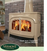 Vermont Castings Encore Catalytic - krémové