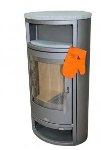 ABX Polar 6 - šedý plech + pícka a horní deska mastek - repasovaná
