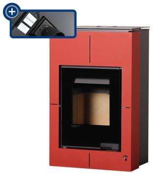 Aquaflam Vario Saporo 11/5 kW červená, elektronická regulace