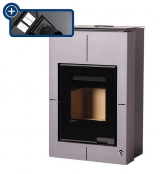 Aquaflam Vario Saporo 11/5 kW šedá, elektronická regulace