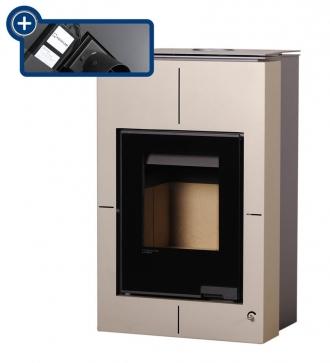 Aquaflam Vario Saporo 11/5 kW krémová - metalická, elektronická regulace