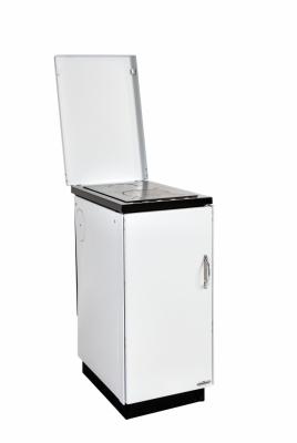 KVS Moravia VSP 9105.1004 - bílá, chromované doplňky