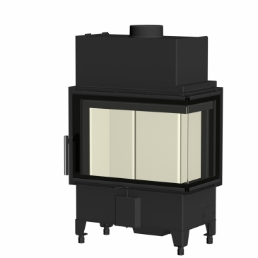 Romotop Heat R/L 2g S 60.44.33.13 - rohová s ohýbaným sklem