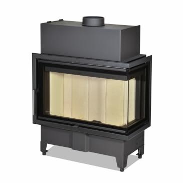 Romotop Heat R 2g S 70.44.33.13 - rohová s ohýbaným sklem - pravá (HR2SX 13)